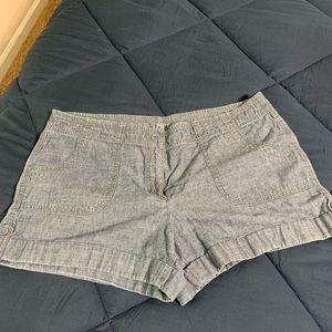 Loft jean shorts sz 16
